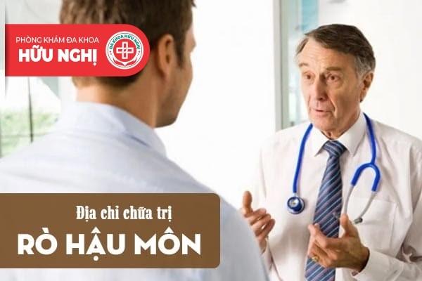 Địa chỉ chữa trị bệnh rò hậu môn uy tín tại Đà Nẵng