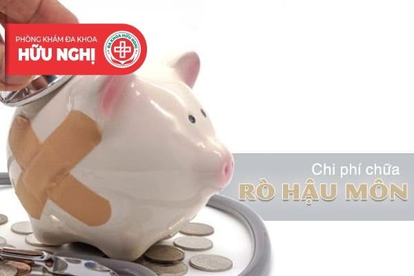 Chữa rò hậu môn bao nhiêu tiền ở Đà Nẵng?