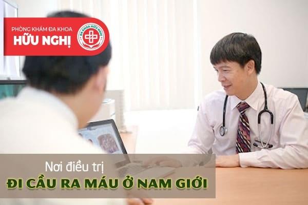 Địa chỉ chữa trị tình trạng đi cầu ra máu ở nam hiệu quả