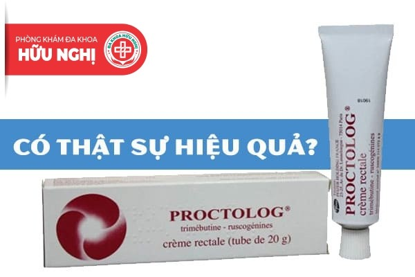 Liệu rằng thuốc bôi trĩ proctolog có hiệu quả không?