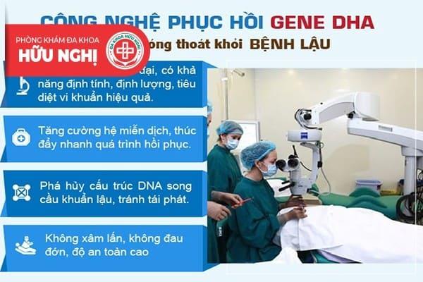 Tại sao nên sử dụng phương phướng DHA chữa trị bệnh lậu