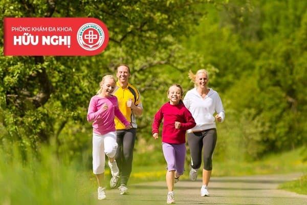 Tập thể dục thường xuyên để tăng cường sức đề kháng