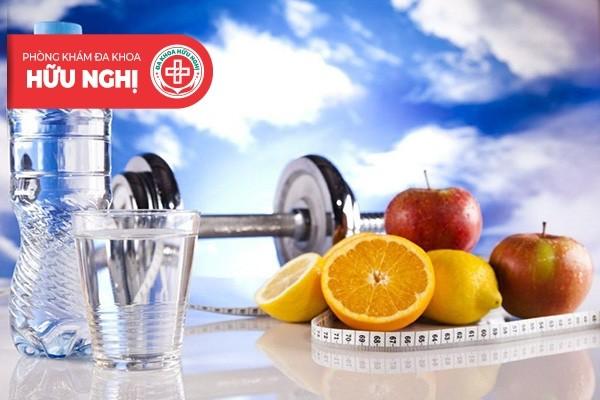 Xây dựng lối sống, chế độ ăn uống khoa học