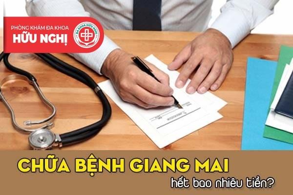 Chữa bệnh giang mai hết bao nhiêu tiền tại Đà Nẵng?