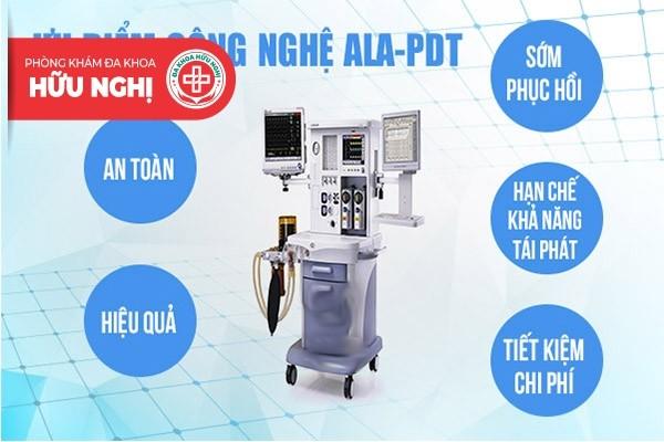 Điều trị sùi mào gà bằng phương pháp ALA PDT