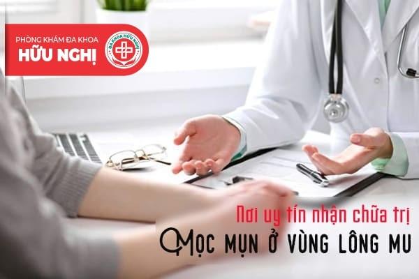 Nơi nào nhận hỗ trợ điều trị mọc mụn ở vùng lông mu uy tín tại Đà Nẵng?