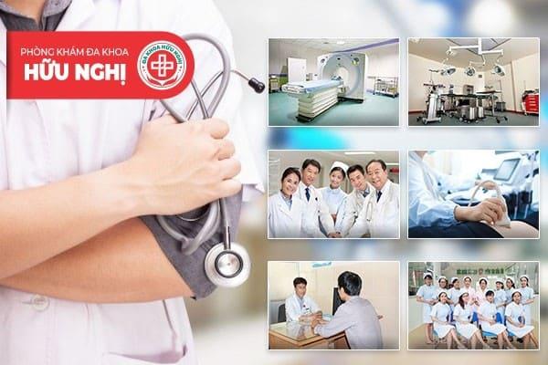 Chữa đau tinh hoàn với chi phí hợp lý tại Phòng khám đa khoa Hữu Nghị