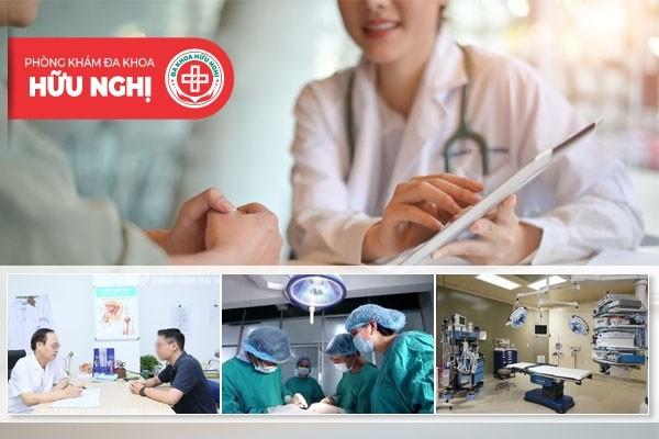 Phòng khám đa khoa Hữu Nghị - Địa chỉ chữa hẹp bao quy đầu uy tín tại Đà Nẵng