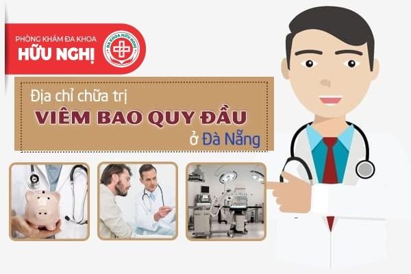 Chi phí, Địa chỉ chữa trị viêm bao quy đầu ở Đà Nẵng