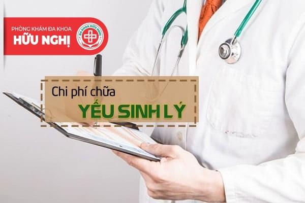 Chi phí, Địa chỉ chữa trị yếu sinh lý nam giới ở Đà Nẵng