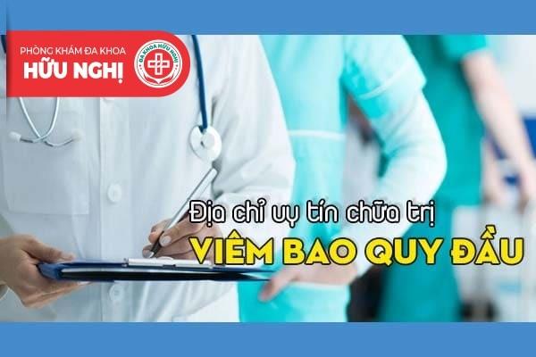 Nơi nào chữa bệnh viêm bao quy đầu ở Đà Nẵng với chi phí phải chăng?