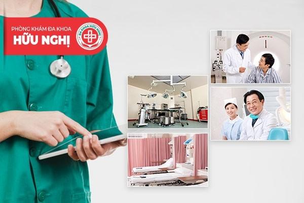 Phòng khám Hữu Nghị - Địa chỉ chữa trị bệnh viêm bàng quang Đà Nẵng uy tín