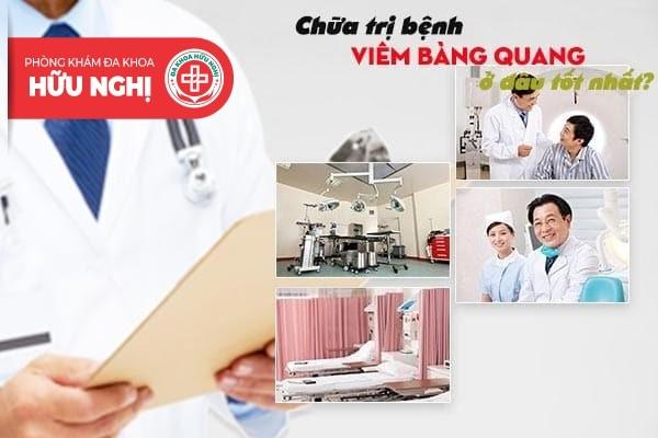 Chữa trị bệnh viêm bàng quang tốt nhất ở Quảng Ngãi