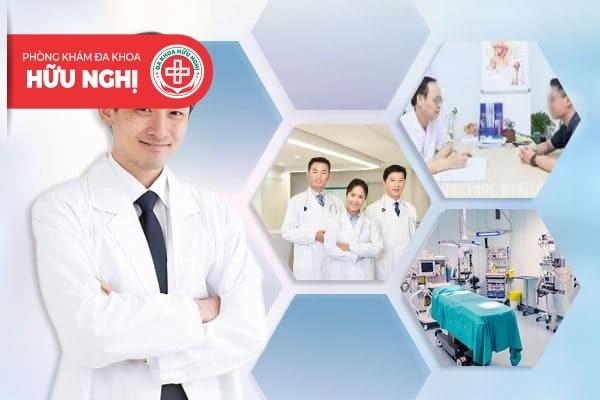 Phòng khám Hữu Nghị - Địa chỉ chữa trị bệnh viêm bàng quang Quảng Nam uy tín