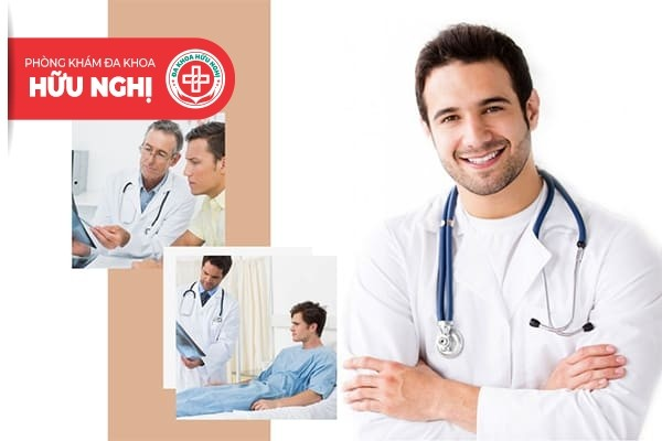 Phòng khám Hữu Nghị là nơi chữa trị bệnh viêm bao quy đầu an toàn, chuyên nghiệp