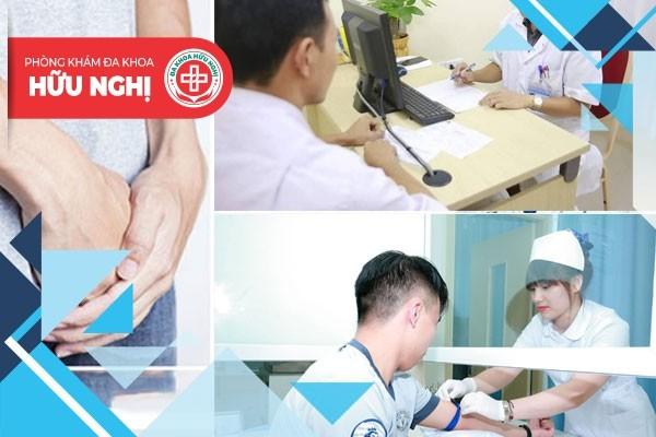 Phòng khám Hữu Nghị - Địa chỉ chữa trị bệnh viêm đường tiết niệu Đà Nẵng uy tín