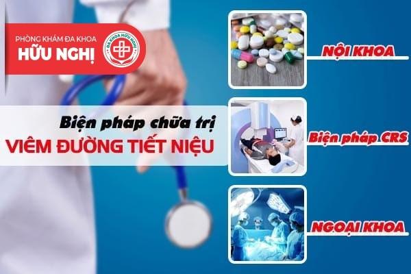 Biện pháp hỗ trợ chữa trị viêm đường tiết niệu hiệu quả