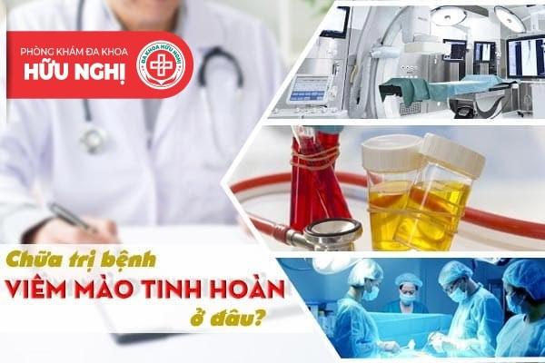 Chữa trị bệnh viêm mào tinh hoàn ở đâu tại Quảng Ngãi?