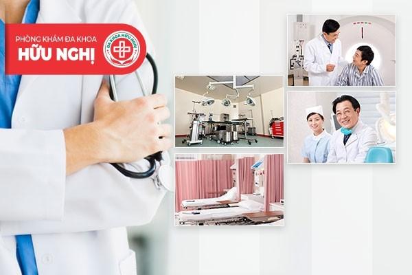 Phòng khám Hữu Nghị - Địa chỉ chữa trị bệnh viêm tuyến tiền liệt Đà Nẵng đáng tin cậy