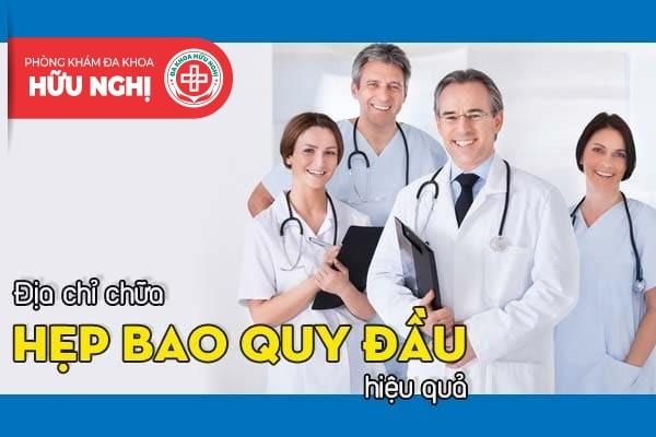 Địa chỉ chữa hẹp bao quy đầu hiệu quả tại Đà Nẵng