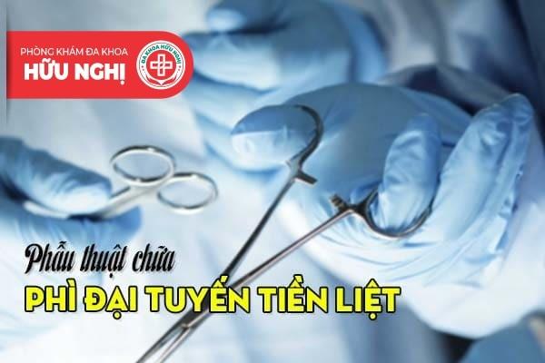 Can thiệp dụng cụ y khoa để làm phẫu thuật (áp dụng ngoại khoa)