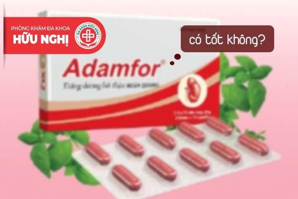 Thuốc trị xuất tinh sớm adamfor có tốt không?