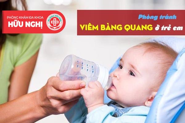 Cần phòng tránh căn bệnh viêm bàng quang ở trẻ