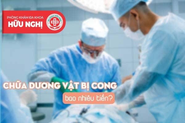 Chi phí chữa dương vật bị cong tại Đà Nẵng bao nhiêu?