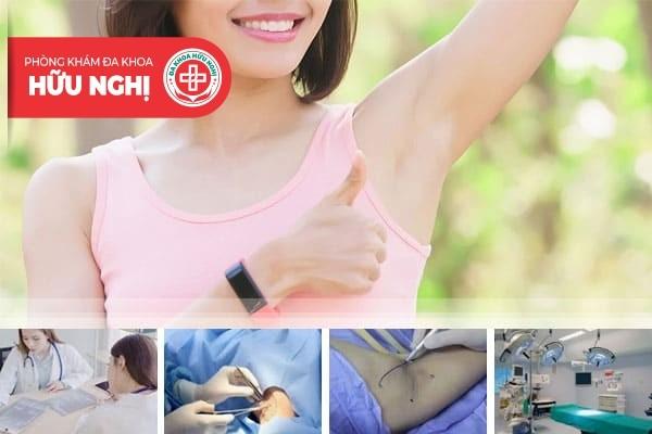 Địa chỉ chữa trị bệnh hôi nách ở Quảng Nam hiệu quả 100%