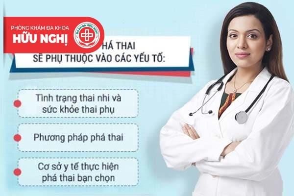phá thai hết bao nhiêu tiền ở Đà Nẵng