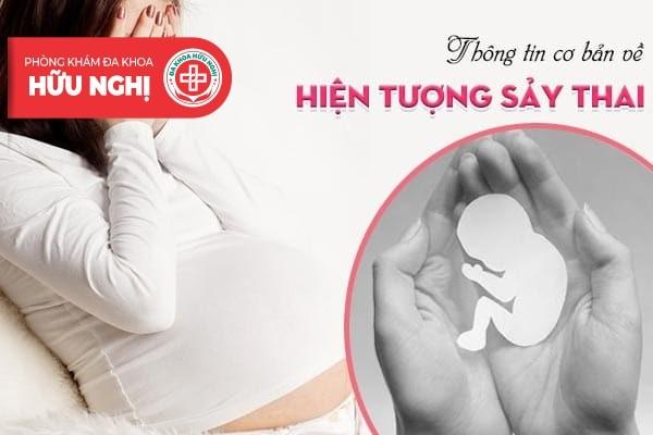Tìm hiểu các thông tin cơ bản về hiện tượng sảy thai