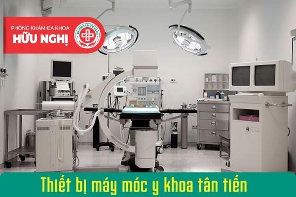 Trang bị hàng loạt trang thiết bị máy móc y khoa tân tiến