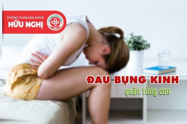 Hiểu đúng tình trạng đau bụng kinh quặn từng cơn
