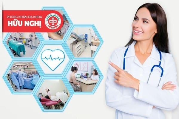 Phòng khám đa khoa Hữu Nghị có chi phí chữa viêm cổ tử cung hợp lý