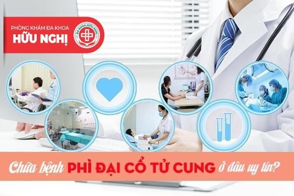 Chữa bệnh phì đại cổ tử cung hiệu quả ở Quảng Ngãi