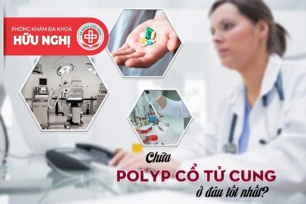 Chữa trị bệnh polyp cổ tử cung tốt nhất ở Quảng Ngãi