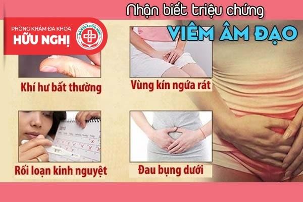 Nhận biết sớm hàng loạt triệu chứng viêm âm đạo