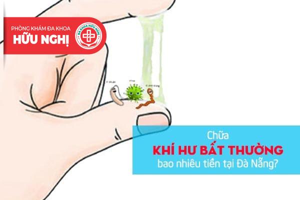 Chữa khí hư bất thường bao nhiêu tiền tại Đà Nẵng?