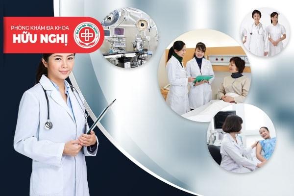 Phòng khám đa khoa Hữu Nghị - Địa chỉ chữa trị bệnh rong kinh Đà Nẵng chất lượng