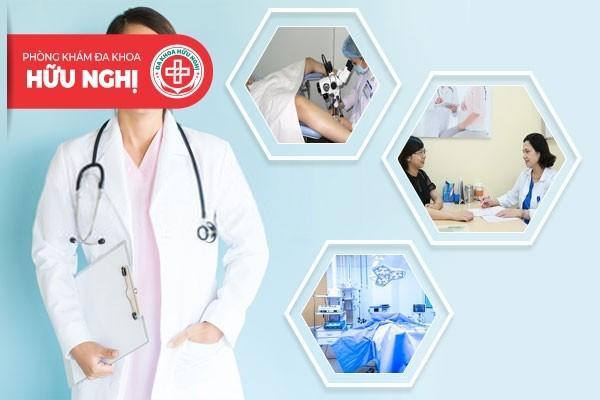 Phòng khám Hữu Nghị - Địa chỉ chữa trị bệnh sa tử cung Đà Nẵng