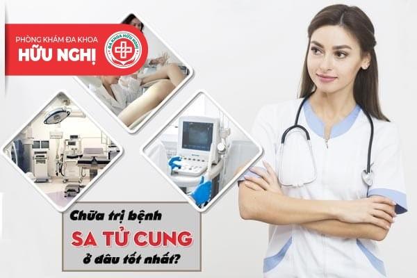 Chữa trị bệnh sa tử cung tốt nhất ở Quảng Ngãi