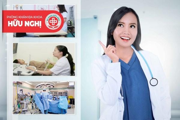 Phòng khám Hữu Nghị - Địa chỉ chữa trị bệnh suy buồng trứng Đà Nẵng