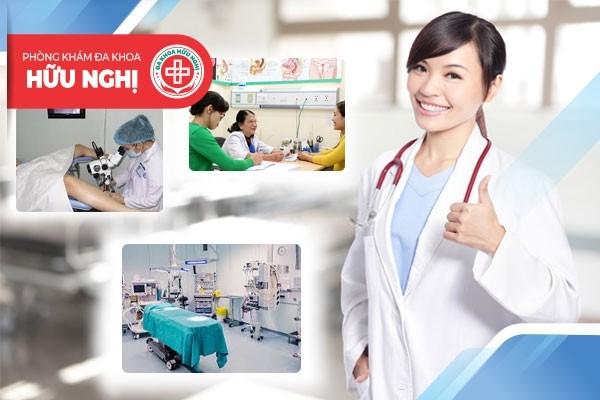Phòng khám Hữu Nghị - Địa chỉ chữa trị bệnh viêm cổ tử cung Đà Nẵng uy tín