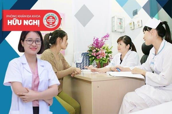 Phòng khám đa khoa Hữu Nghị - Địa chỉ chữa viêm buồng trứng hiệu quả, an toàn