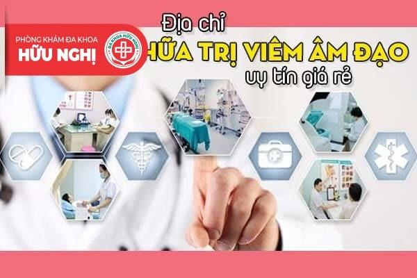 Địa chỉ chữa trị viêm âm đạo uy tín giá rẻ tại Đà Nẵng