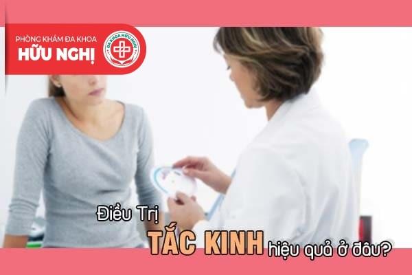 Điều trị tắc kinh hiệu quả ở đâu tại Đà Nẵng?