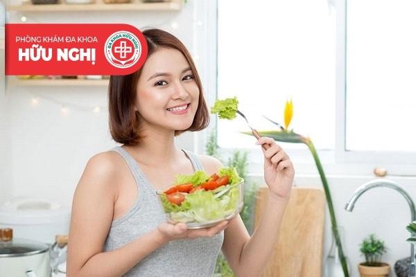 Bổ sung nhiều chất dinh dưỡng để cải thiện tình trạng suy buồng trứng