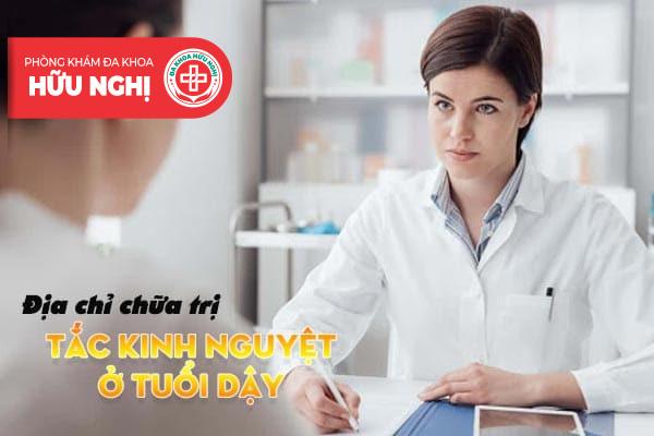 Địa chỉ nhận chữa trị tắc kinh hiệu quả tại Đà Nẵng