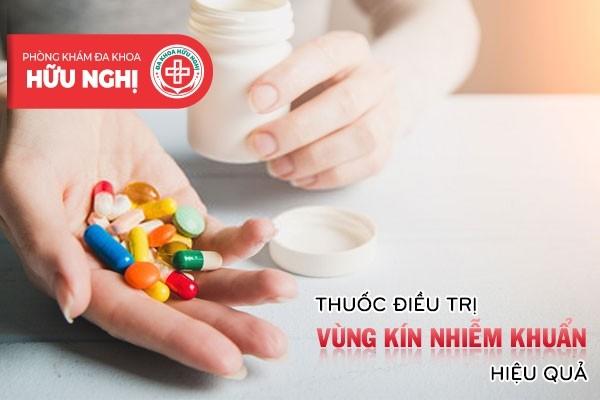 Thuốc điều trị vùng kín nhiễm khuẩn hiệu quả