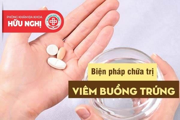 Các biện pháp can thiệp y tế giúp cải thiện viêm buồng trứng